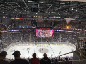 Golden Knights T-Mobile Area